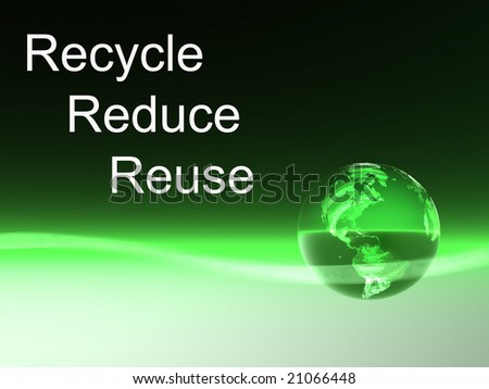 Recycle-Reduce-Reuse Dynamic World