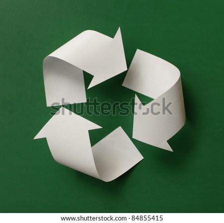 recycle symbol - stock photo