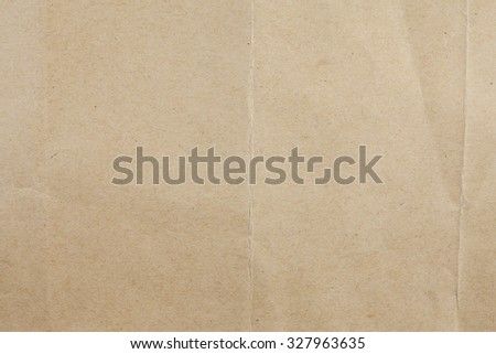 Recycled brown paper background. - stock photo