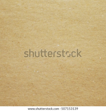Recycled brown paper texture or paper background for design with copy space for text or image