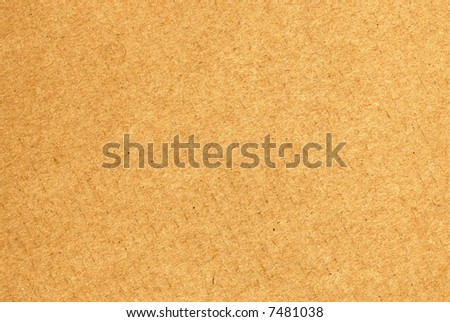 Recycled cardboard paper suitable for background - stock photo