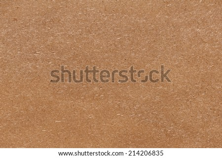 Recycled compressed wood chipboard. Useful for designers as background. Closeup. - stock photo