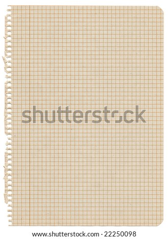 Recycled graph paper. Extra high resolution