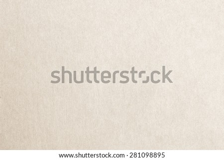 Recycled paper texture background in light cream sepia color tone         - stock photo