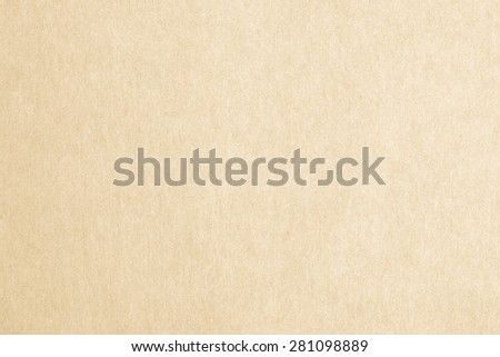 Recycled paper texture background in yellow cream color tone        - stock photo