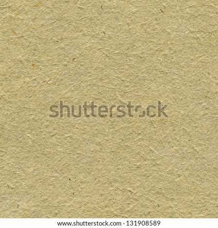 Recycled Paper Texture Background, Pale Tan Beige Sepia Textured Macro Closeup Vertical Straw Natural Handmade Rough Rice Craft Copy Space - stock photo
