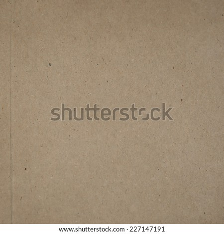recycled paper texture or background, square format  - stock photo
