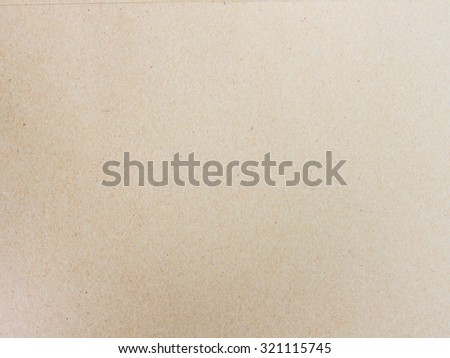 Recycled paper texture pattern background in light brown  color tone. - stock photo