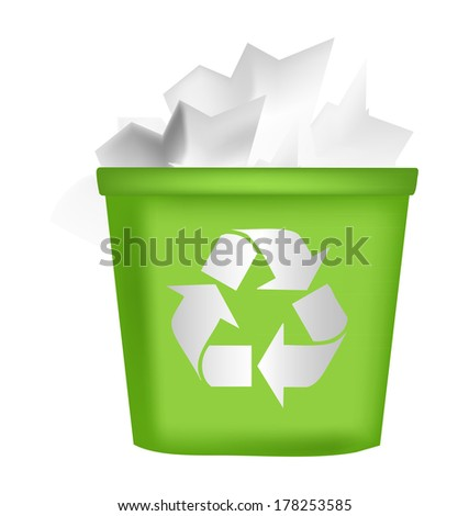 recycling bin icon