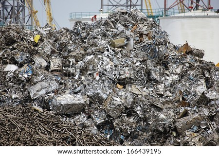 recycling scrap metal