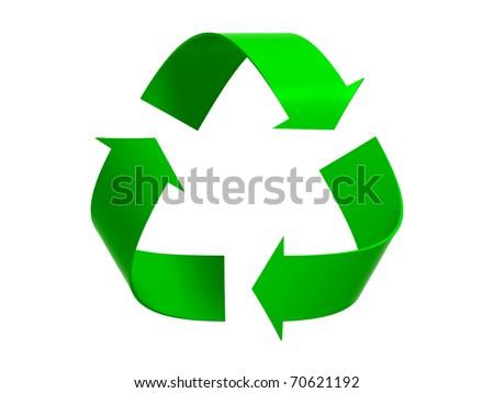 Recycling Technology - stock photo
