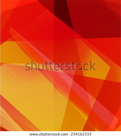 red abstract background,raster illustration - stock photo