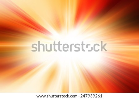 Red Abstract Burst Background - stock photo