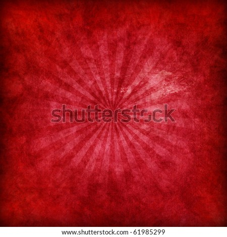 Red abstract Christmas background - stock photo