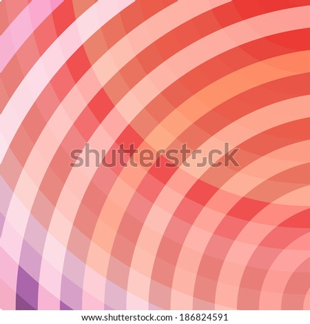 Red Abstract Geometrical Multicolored Background, Raster Version - stock photo