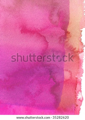 red abstract paint background - stock photo