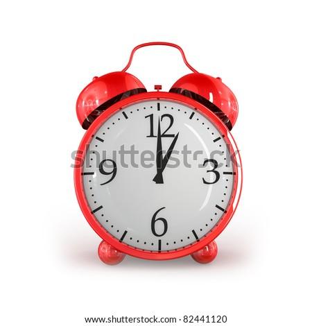 Red alarm - stock photo