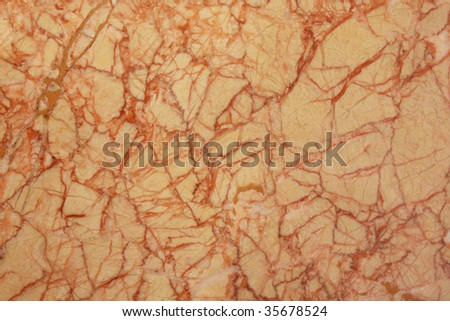 Red and beige marble pattern background texture - stock photo