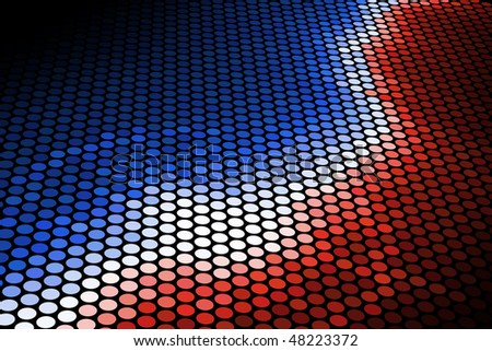 Red and Blue - stock photo