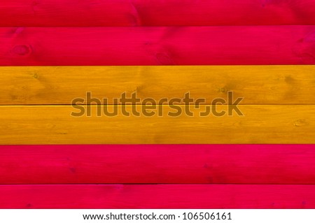 Red and Brown Wood Background