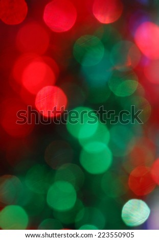 red and green - stock photo