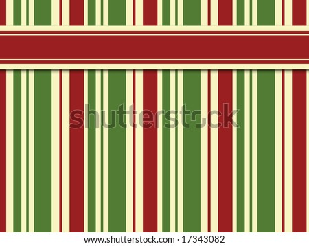 Red and Green Vertical Stripes with Red Horizontal Stripe - good for background and title