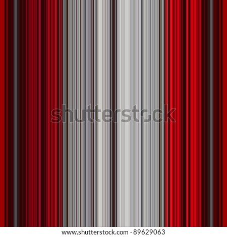 red and grey striped background or texture - stock photo
