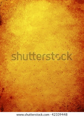 red and orange grunge styled wall background - stock photo