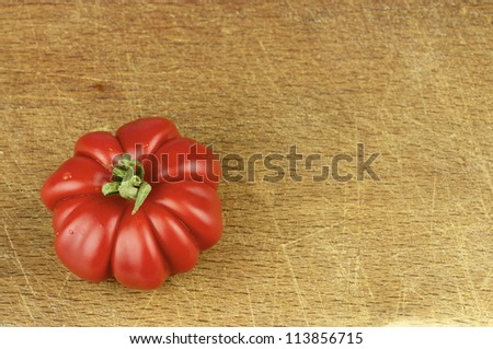 Red and small tomatoes - pachino and pisanello