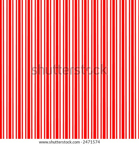 Red and White Candy Cane striped digital background. - stock photo