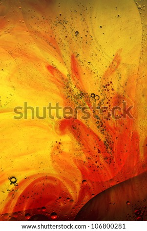 red and yellow abstract background - stock photo
