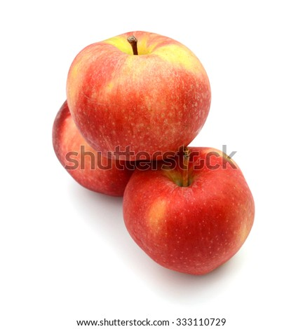 red apples pile