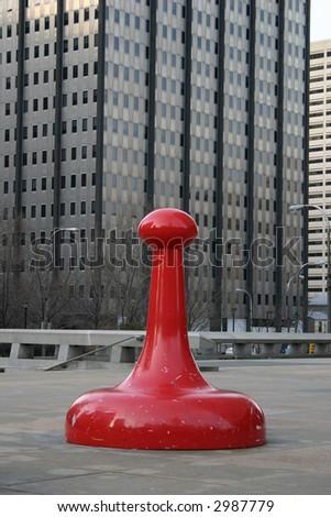 red art - stock photo