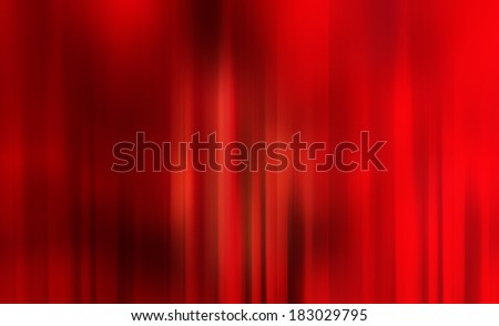 red background.