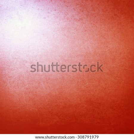 red background highlighted in the corner, old, paper texture, grunge background may use as christmas background - stock photo