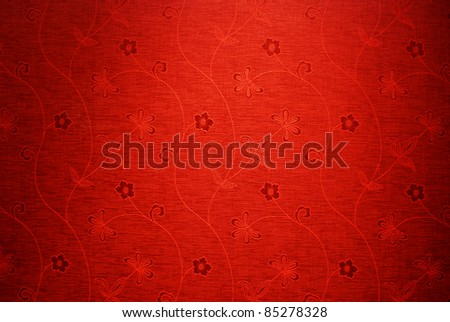 Red background texture pattern flower light for design