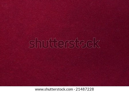 red background with heavy texture.