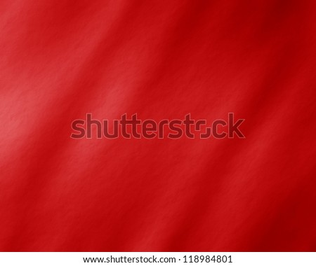Red background with some shades and damaged surface - stock photo