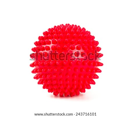 red ball - stock photo