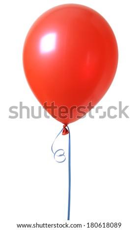 red balloon - stock photo