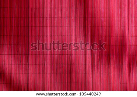 red bamboo pad background
