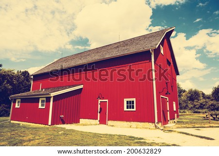 Red Barn - stock photo