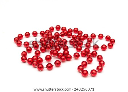 red beads border