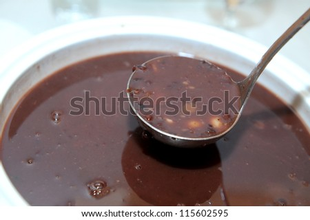 red bean - stock photo