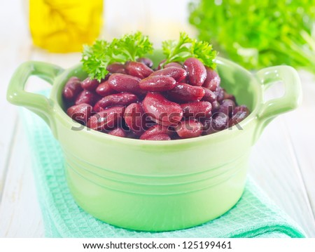 red beans - stock photo