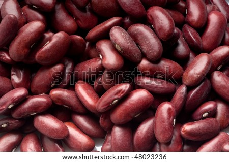 red beans close up - stock photo