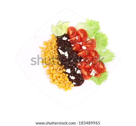 background red beans and tomatoes red beans salad background red beans ...