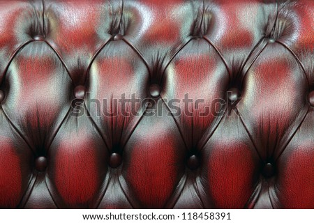 Red-black upholstery leather pattern background