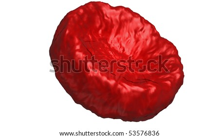 Red blood cell - stock photo
