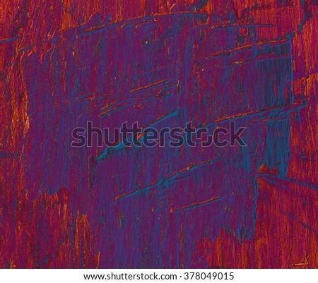 red blue background abstract wall texture - stock photo